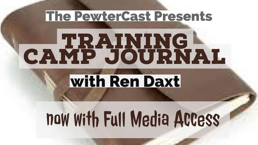 Ren's Training Camp Journal Day 4