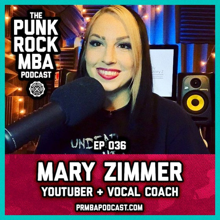 Mary Zimmer (YouTuber + Voice Coach)
