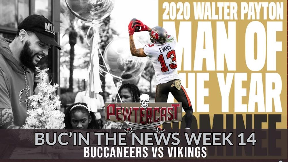 Buc'In the News - Week 14 Buccaneers vs Vikings