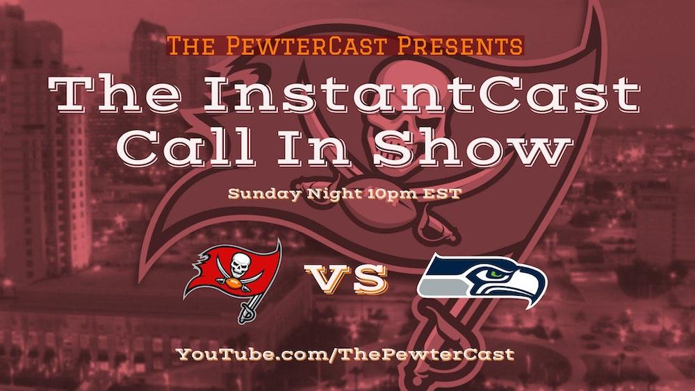 InstantCast - Bucs at Seahawks