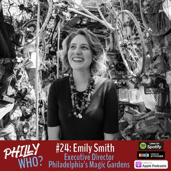 Emily Smith: Showcasing and Preserving Isaiah Zagar's Art at Philly Magic Gardens Image