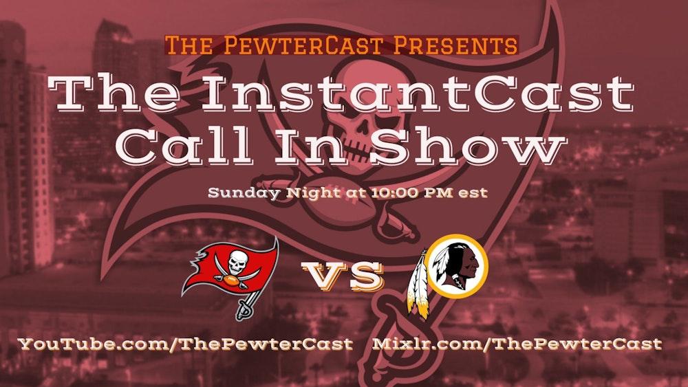 InstantCast Game 09 - Bucs vs Redskins