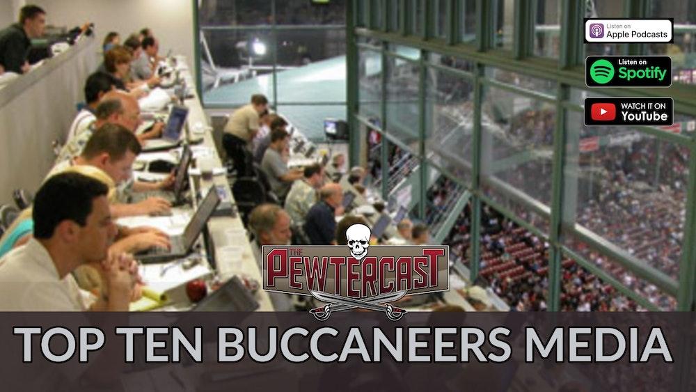Top Ten Buccaneers Media Members