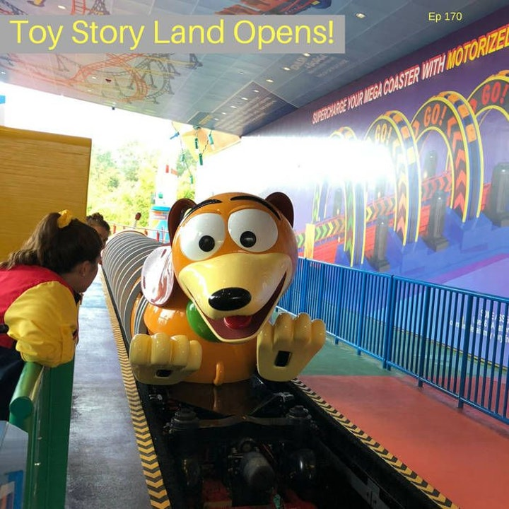 Episode 170: Toy Story Land Opens!
