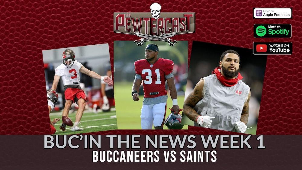 Buc'In the News - Week 1 #Bucs vs #Saints