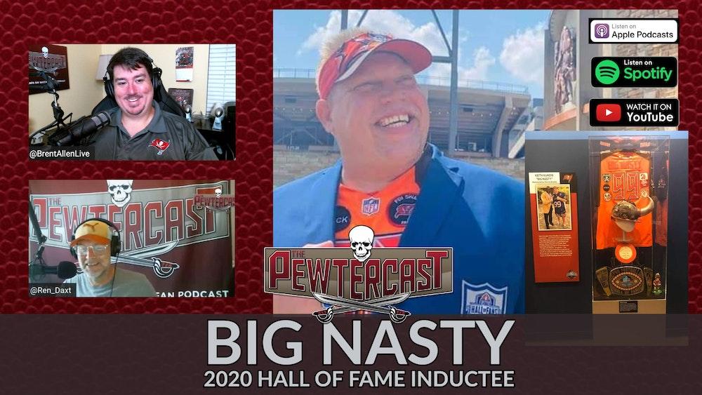 Big Nasty's Hall of Fame Enshrinement