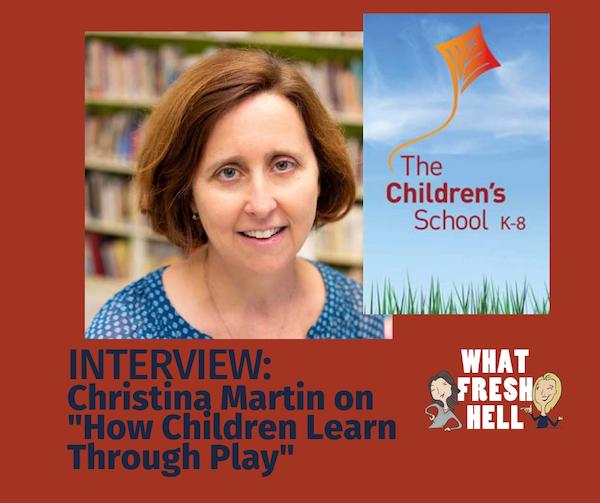 Fresh Take: Christina Martin on How Children Learn Through Play Image