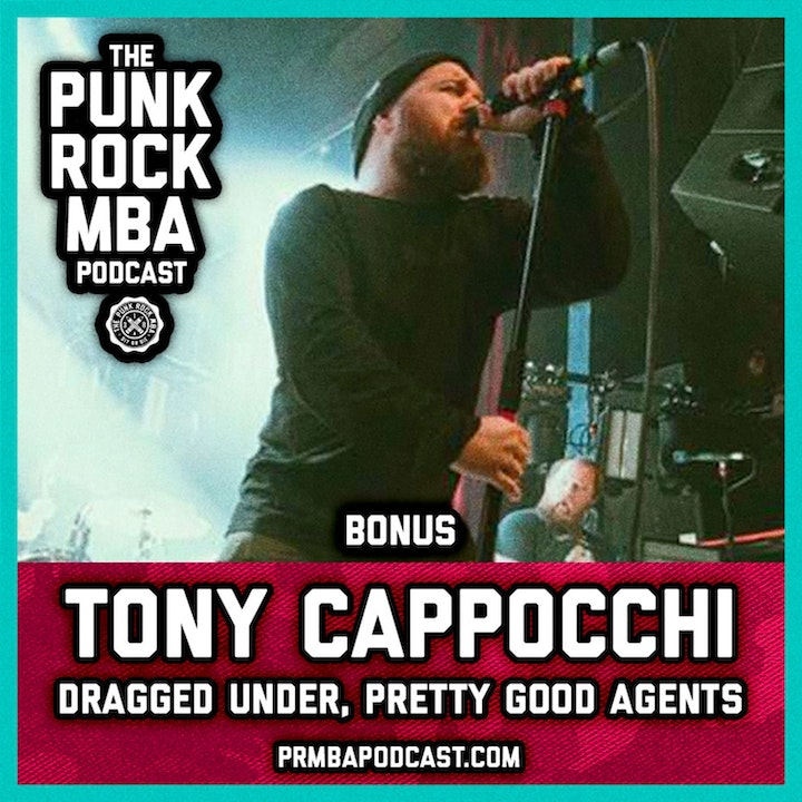 Tony Cappocchi (Dragged Under, Pretty Good Agents)