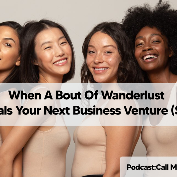 When A Bout Of Wanderlust Reveals Your Next Business Venture (SOJI) Image