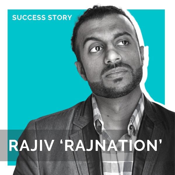 Rajiv 'RajNATION' Nathan, Founder of The Startup Hypeman | Storytelling, Pitching & Sales