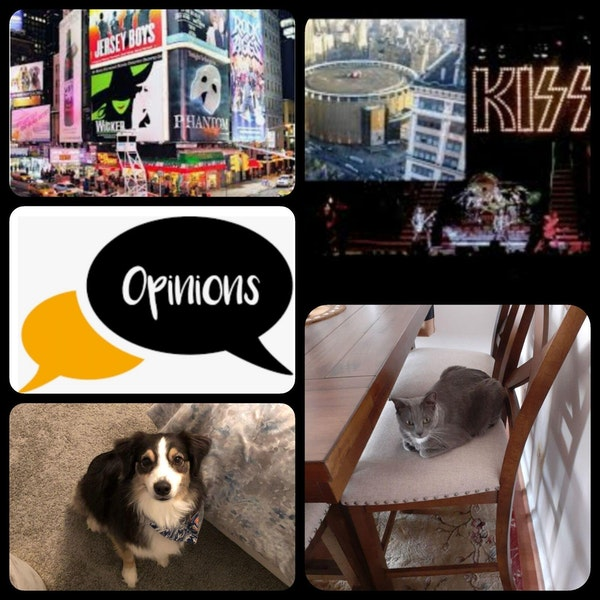 38: Episode 38. Broadway Shows, Concerts and Opinions