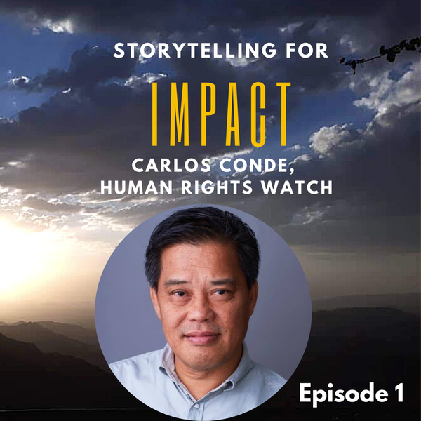 1: I fear for my safety – Carlos Conde, Human Rights Watch Philippines Image