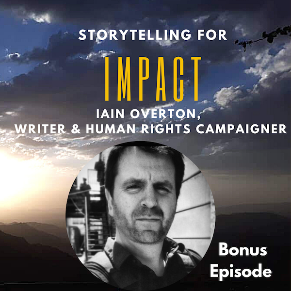 How to get into human rights reporting, with Iain Overton Image