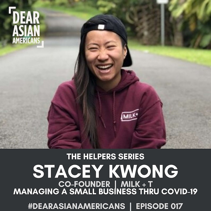 017 // Stacey Kwong // Co-Founder - MILK + T // The Helpers Series