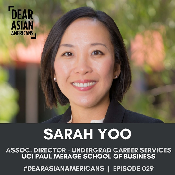029 // Sarah Yoo // Associate Director of Undergraduate Business Career Services at UCI Paul Merage School of Business