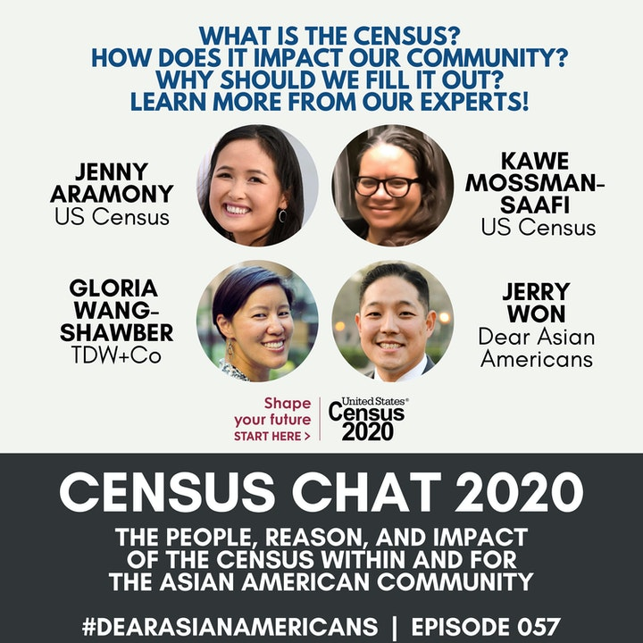 057 // Dear Asian Americans, Let's Fill Out The Census
