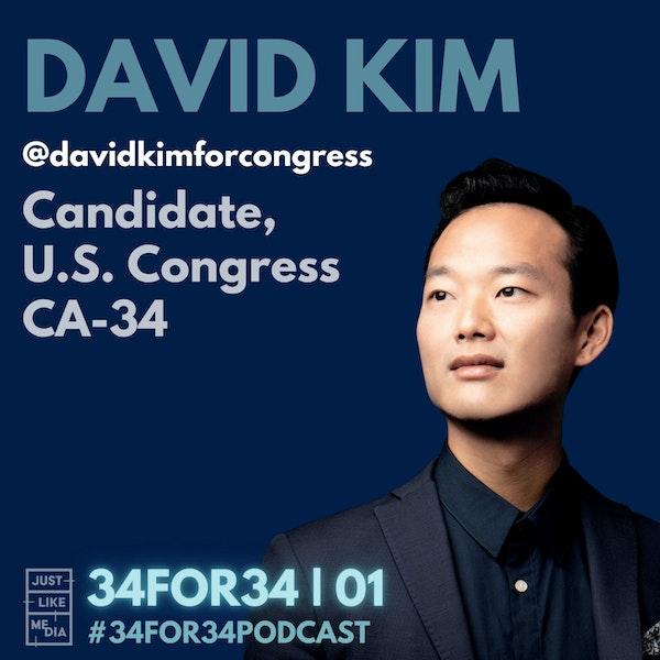 01 // David Kim // Meet The Candidate