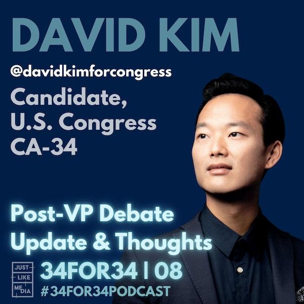 08 // David Kim // Update October 8, 2020: Post-VP Debate Thoughts + Looking Ahead