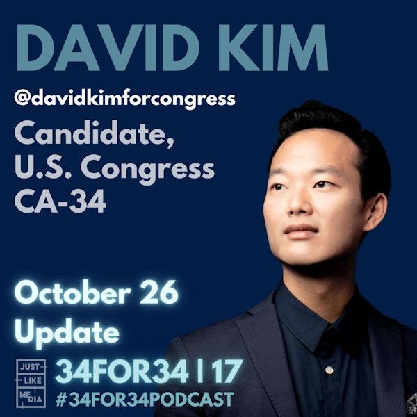 17 // David Kim // October 26 Update