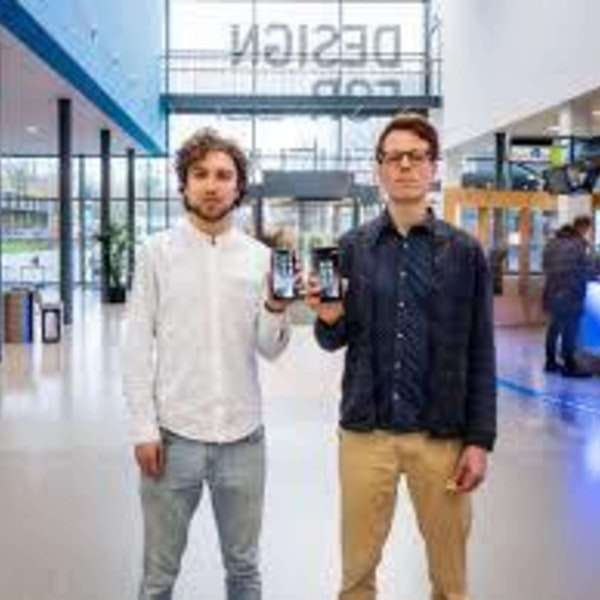446 - Tim Smits & Jorn Rigter (Unpluq) On Beating Smartphone Addiction Image