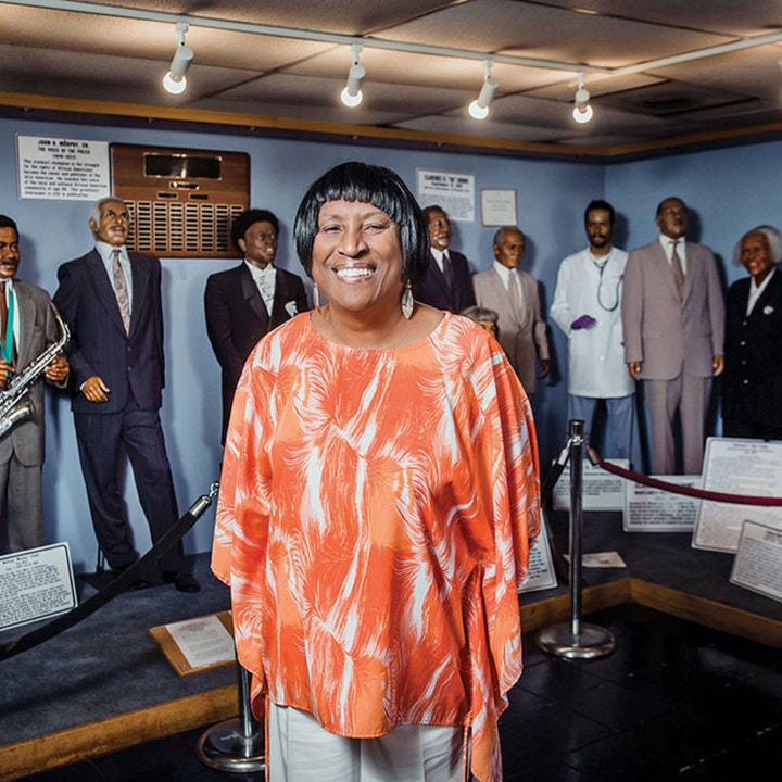 Dr. Joanne Martin of The National Great Blacks In Wax Museum, Inc.