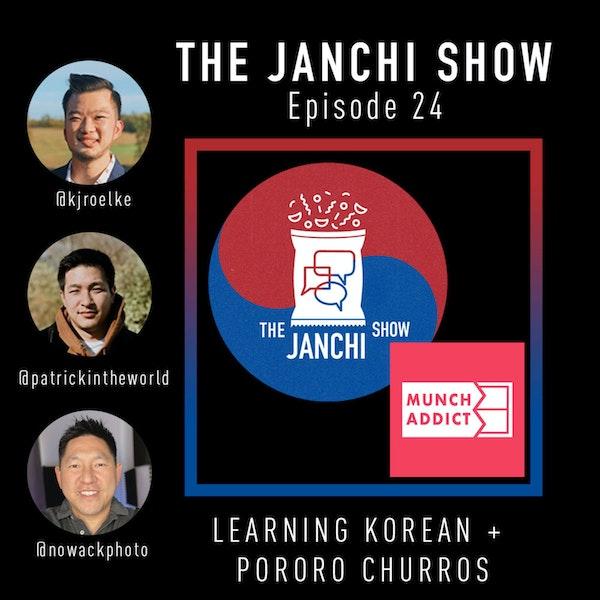 024 // Learning Korean + PORORO Churros!