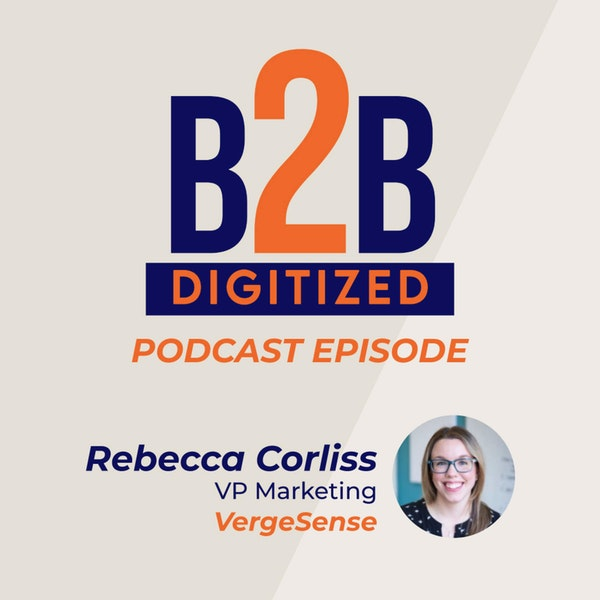 Rebecca Corliss, VP Marketing at VergeSense Image