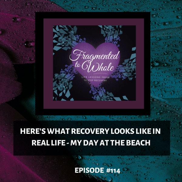 Here's What Recovery Looks Like in Real Life - My Day at the Beach   Episode 114