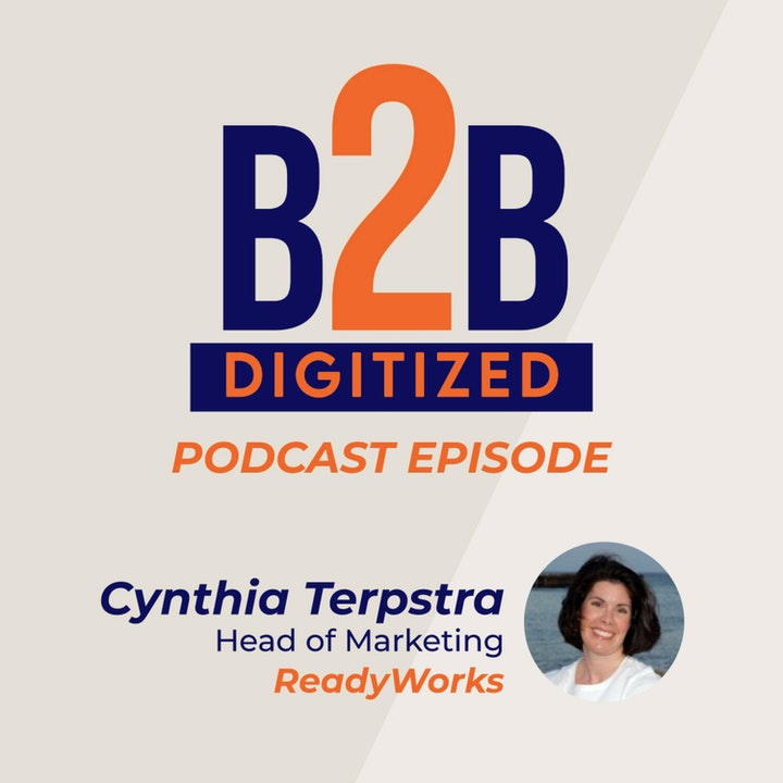 Cynthia Terpstra, Head of Marketing at ReadyWorks