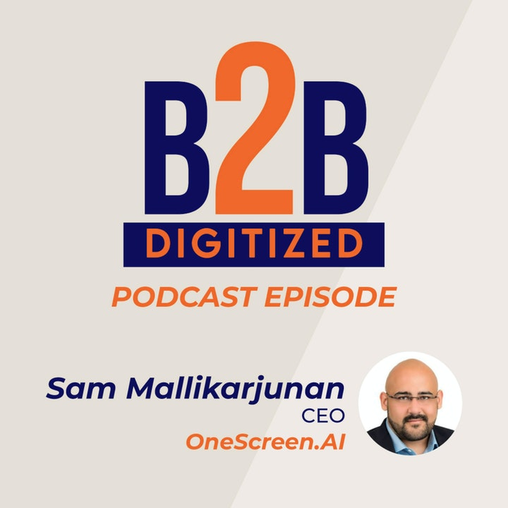 Sam Mallikarjunan, CEO at OneScreen.ai