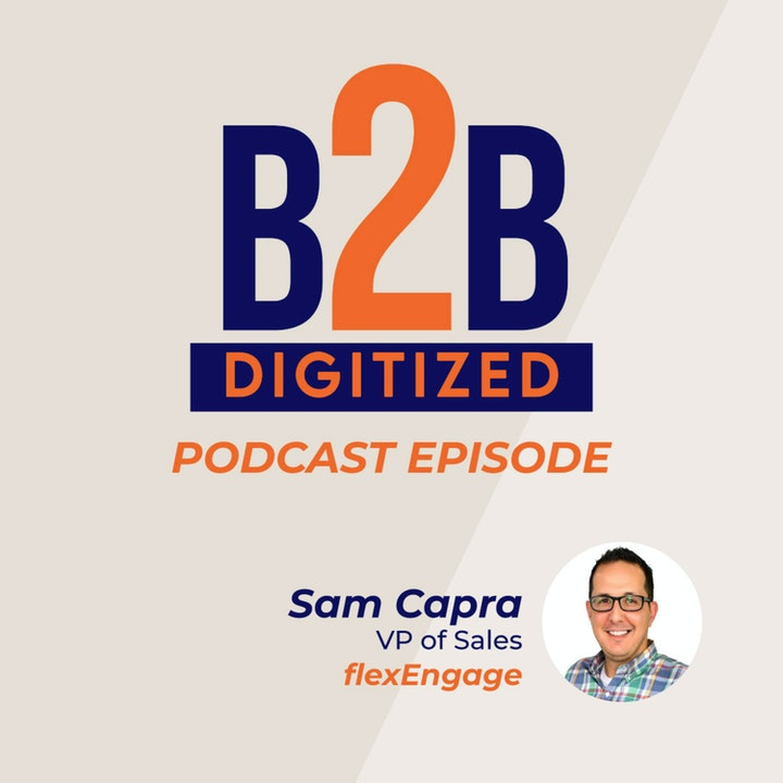 Sam Capra, VP of Sales at flexEngage