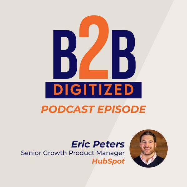 Eric Peters, Senior Growth Product Manager at HubSpot Image