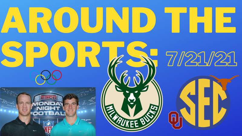 Episode image for Around The Sports | Testing Timm's Gag Reflex | Laugh Like Griggs