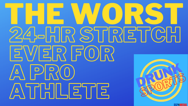 The Worst 24-Hr Stretch Ever For A Pro Athlete