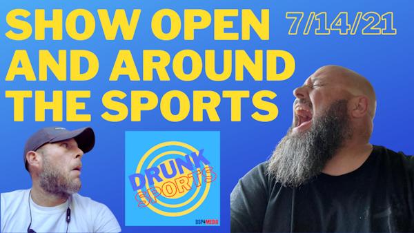 Show Open and Around the Sports 7/14/21 - Shohei Ohtani vs Stephen A. Smith