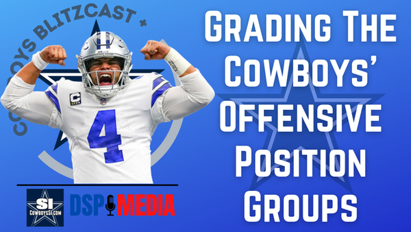Daily Blitz - 6/16/21 – Pre-Training Camp: Grading the Dallas Cowboys' Offensive Position Groups