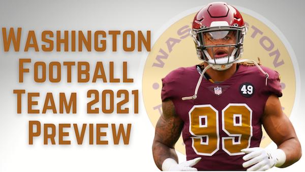 Daily Blitz - 7/20/21 - NFC East Preview - Washington Football Team 2021