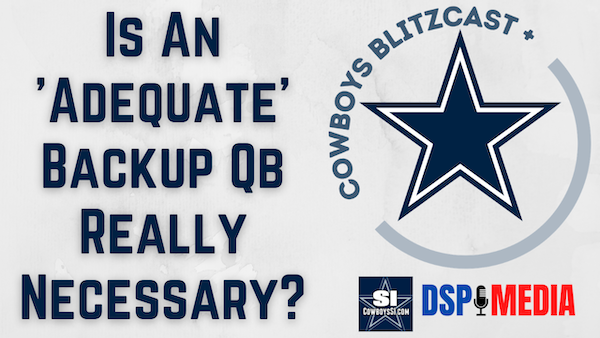 Is An 'Adequate' Backup Quarterback Really Necessary?