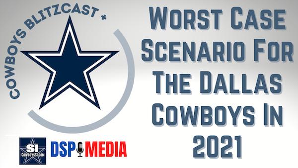 """Daily Blitz - 6/11/21 - Worst-Case """"Non-Injury"""" Scenario For The Dallas Cowboys In 2021"""