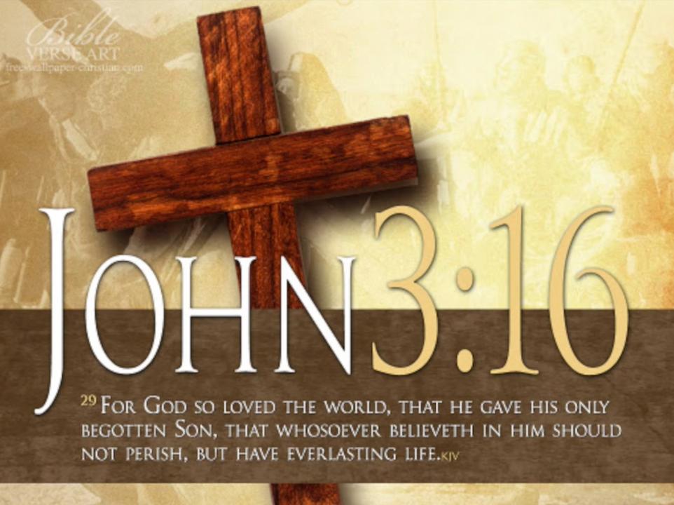 Ep. 45 - Happy John 3:16 Day