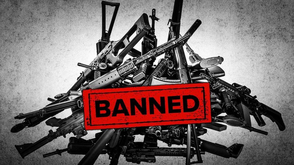 Guns Banned