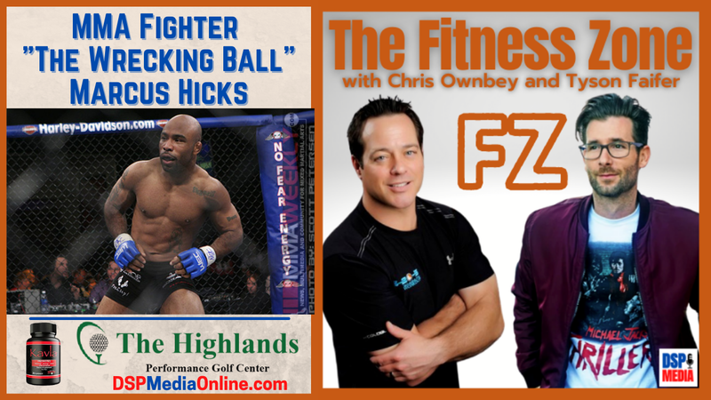 """Episode image for Ep17: MMA Fighter and Boxing Instructor Marcus """"The Wrecking Ball"""" Hicks"""