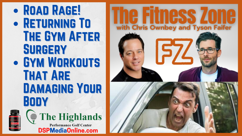 Episode image for Ep20: Road Rage | How To Return To The Gym After Surgery | Gym Exercises That Are Hurting You