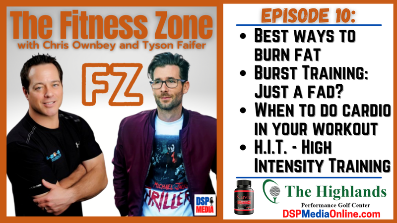 Episode image for Ep10: Ways To Burn Fat | Burst Training: Just A Fad? | H.I.T.