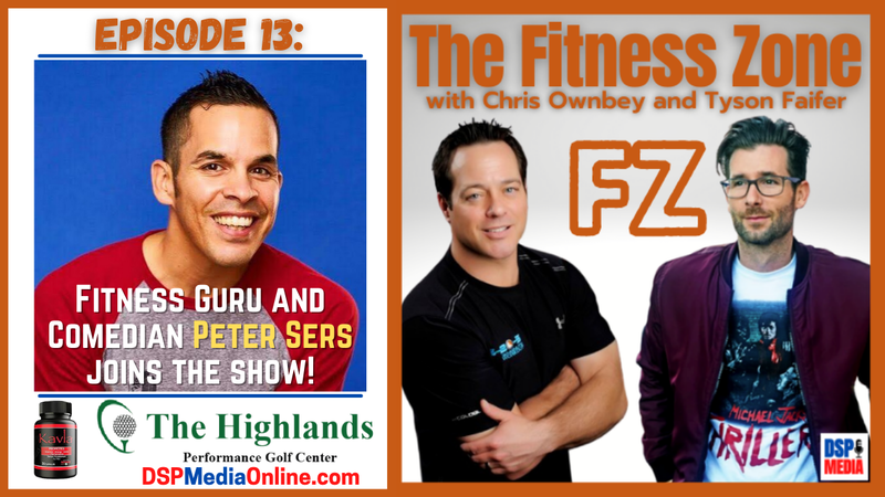 Episode image for Ep13: Fitness Guru And Comedian Peter Sers - Fitness While On The Road