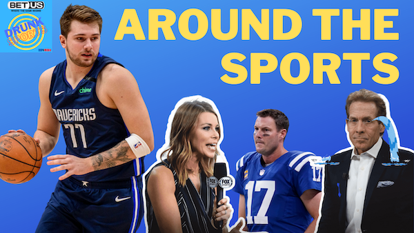 Around The Sports 8/11/21 - A River's Not Done | NFL Power Rankings Are Dumb | Luka's Rich | Jenny Taft Is A Badass