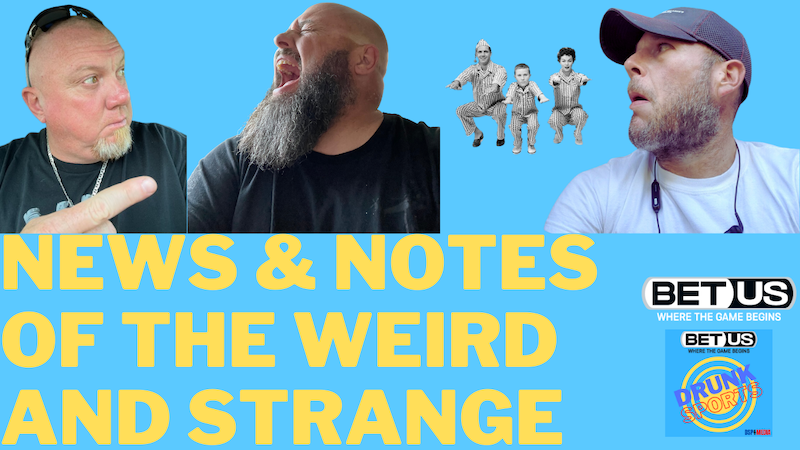 Episode image for Colby Sapp's World Famous News & Notes of the Weird and Strange