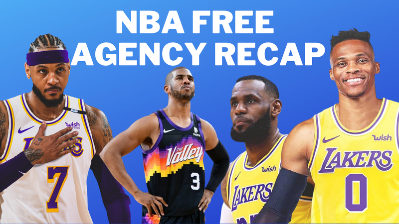 Episode image for Around The Sports - 8/4/21 - NBA Free Agency