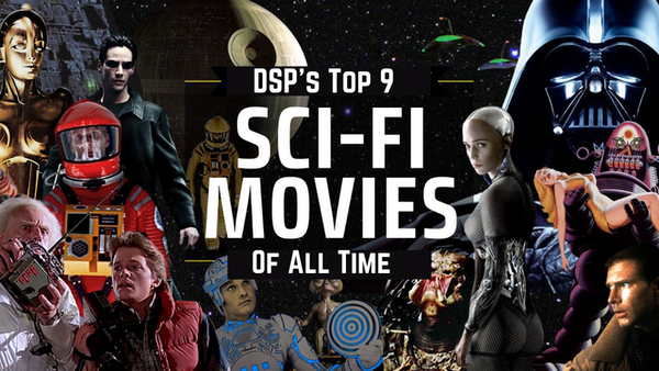 No Shirt Top 9 at 9: Best Science Fiction Action Movies of All Time