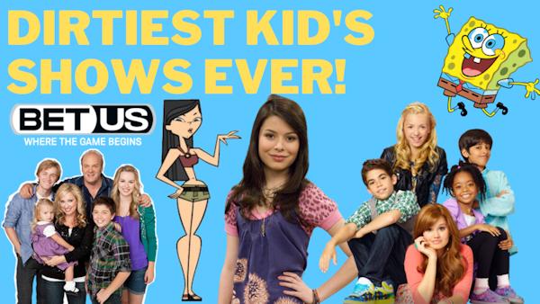 No Shirt Top 9 @ 9: Dirtiest Kid's TV Shows